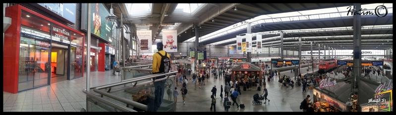 محطة القطار بوسط ميونخ (صورة