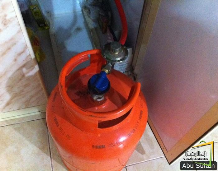 أنابيب الغاز الجديدة التي توزيعها