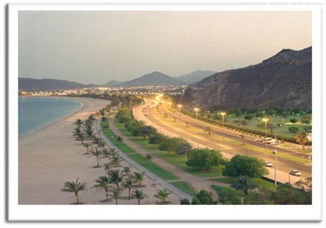 خورفكان مدينة جميلة الإمارات  خورفكان مدينة جميلة الإمارات خورفكان