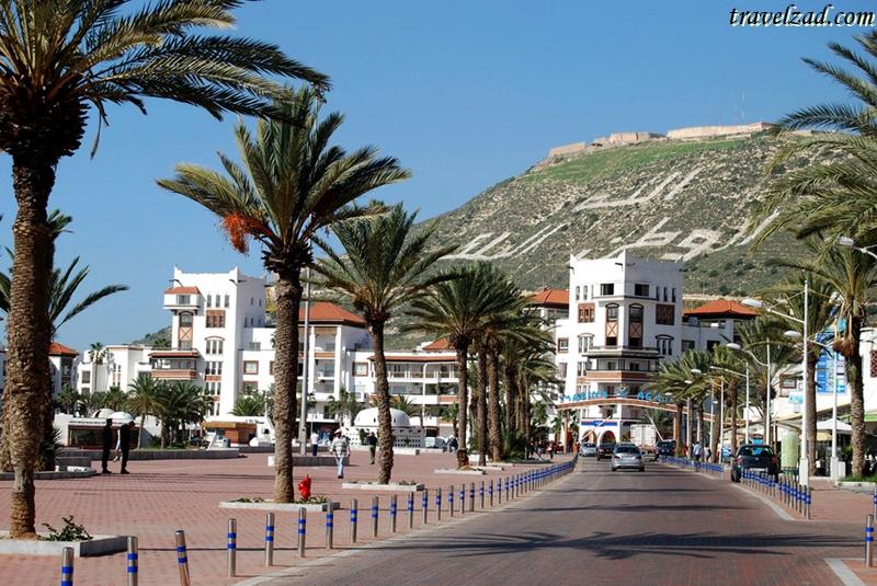 أماكن سياحية مارينا أغادير - شبكة ومنتديات زاد المسافر