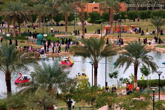 شبكة ومنتديات زاد المسافر عرض مشاركة واحدة أماكن سياحية منتزه سلام اكبر حديقة في الرياض